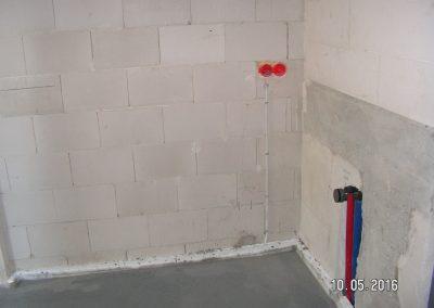 Instalacja elektryczna gniazd i wyłączników